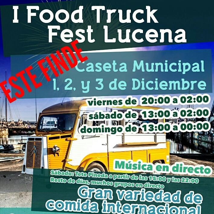 FOOD-TRUCK-HISPANIA-EVENTOS-EN-LA-GUIA-DE-LUCENA Primera edición Food Truck Fest en Lucena